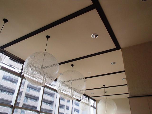 エントランスホール天井