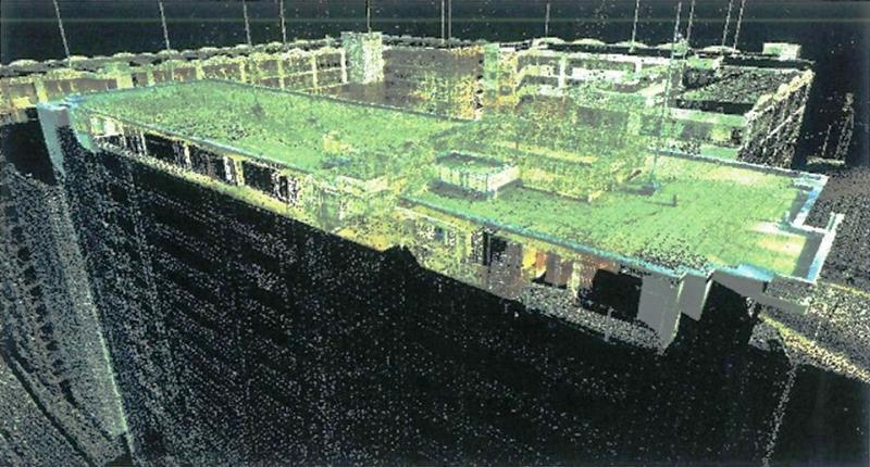 屋上3D測定