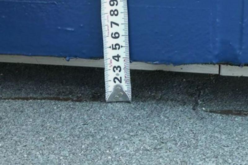 パラペット4センチ